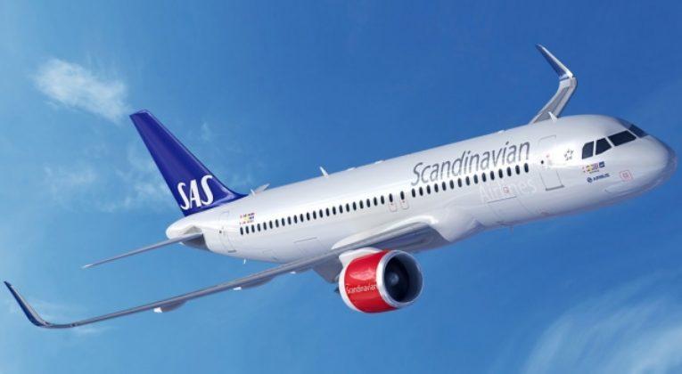 Sas med i stor flygplansorder