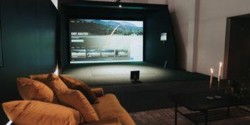 RUFF Indoor Golf Simlutaorer på Scandic Infra CIty